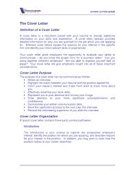Definition Of Cover Letter Meaning And Definition Of Cover Letter Cover Letter What Is The 1