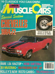 Muscle Cars Magazine Magazines Auto Muscle Cars Spr