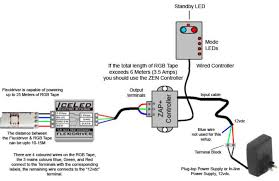 colour changing rgb led tape wiring schematics