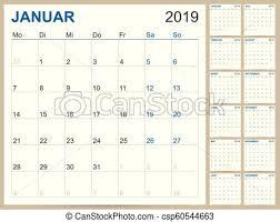12 Week Calendar Template German Calendar 2019
