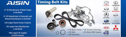 Aisin Tkf 006 Engine Timing Belt Kit With New Water Pump