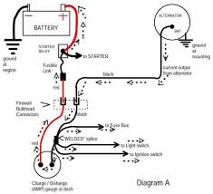 auto amp meter wiring diagram auto wiring diagrams cars auto meter amp wiring diagram auto wiring diagrams