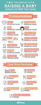 Cost Of Raising A Child Chart Cost Of Raising A Baby From Birth To Age 2 Philippines