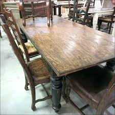 black distressed dining table monarch specialties distressed reclaimed