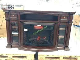 fireplace media center menards electric