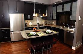 Image Deentight Home Interior Designs Modern Kitchen With Wooden Flooring Kitchen Design Uses Blend Of Modern And Traditional But The Results Were Incredible Interior Design Ideas New Home Design Ideas Home Interior Designs Modern Kitchen With