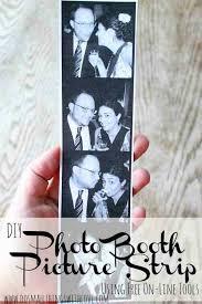 diy photo booth picture strip anniversary gifts for boyfriend birthday