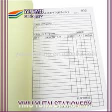 receipt book printing receipt book invoice bills account book printing buy custom