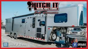 sundowner gooseneck toy hauler trailers 1786gm