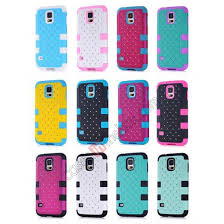 samsung galaxy s5 glitter cases. top quality hybrid rugged bling rubber matte hard case cover for samsung galaxy s5 - blue glitter cases i