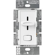 lutron skylark contour 600 watt single pole preset dimmer brown will this work properly dimmerable led s
