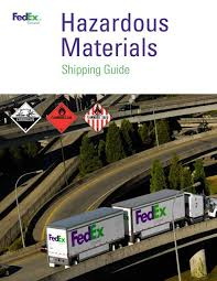 Hazmat Position In Train Chart Hazardous Materials Shipping Guide Fedex