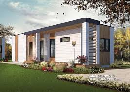 Small Picture W1906 Modern 631 sqft tiny house plan 2 to 3 bedrooms 9