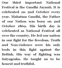 ask the experts gandhi jayanti essay gandhi jayanti 2nd short speech essay in hindi