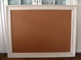 Picture Frames For Bulletin Boards How To Make A Framed Bulletin Board The  Happy Housewife Home