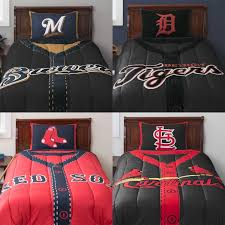New York Yankees Bedroom Boys Comforter Sets Mlb Twin Baseball Jersey Style Comforter Set