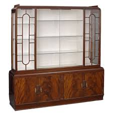 english art deco display cabinet at 1stdibs art deco furniture cabinet