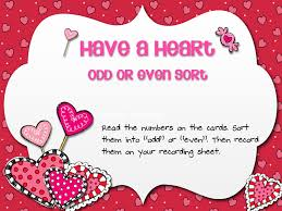 4040 Free Resources Valentine's Day OddEven Sort Gorgeous Valentine Quotes For Parents