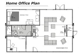 home office plan. Home Office Floor Plans | Plan H