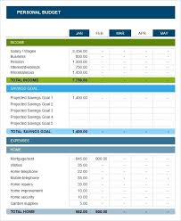 Yearly Budget Planner Template Sample Yearly Personal Budget