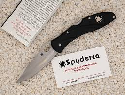 <b>Нож складной SPYDERCO</b> CENTOFANTE 3 C66PBK3 - купить по ...