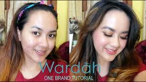 wardah one brand tutorial tips makeup cover jerawat bahasa indonesia you