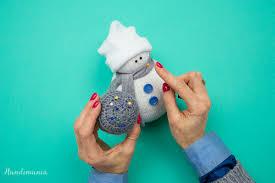 no sew sock snowman 19