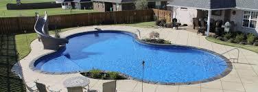 Inground pool Lagoon Inground Pool Spa Depot Inground Pools Clarksville Custom Pool Builder Nashville