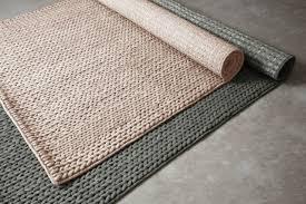 chunky wool and jute rug