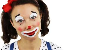Girl Clown Face Designs Beginners Clown Face Painting Tutorial With Ashlea Henson