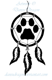 Simple Dream Catcher Tattoos Paw and Dream Catcher Tattoo Commission by DansuDragon on DeviantArt 70