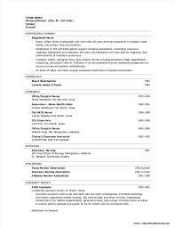 Registered Nurse Resume Examples Free Resume Resume Examples