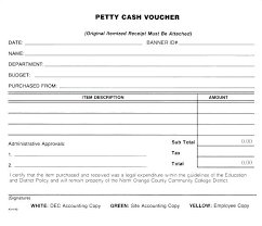 Sample Petty Cash Voucher Template 9 Free Documents In Word Expense