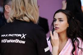 paris france november 30 irina shayk has her hair makeup done prior the 2016 victoria s secret fashion show on november 30 2016 in paris france