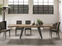 modern kitchen table. Stunning Scirocco Extending Modern Dining Table In Rustic Wood Effect Finish Options By Target Point With White. Kitchen T
