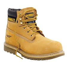 Mens Designer Boots Clearance Dewalt Work Safety Boots Wheat Size 7 Mens Shoes Utility