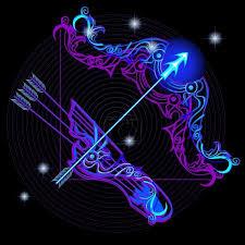 Vektor Neon Znamení Zvěrokruhu Střelec 53734487 Fotobanka Fotkyfoto