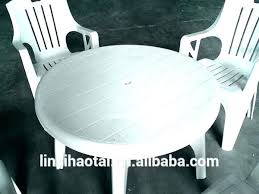 plastic patio table round round resin patio table round plastic outdoor tables plastic round patio table