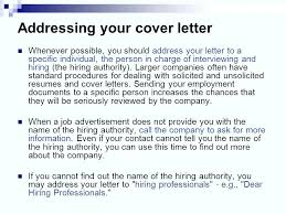 How To Address Cover Letter With First Name Adriangatton Com