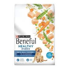 Purina Beneful Puppy Feeding Chart Purina Beneful Healthy Puppy With Real Chicken Dry Dog Food 14 Lb Bag