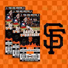 San Francisco Giants Sports Party ...