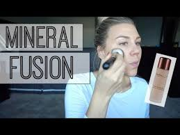 Mineral Fusion Liquid Foundation Demo Review Youtube