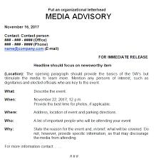 Media Advisory Media Advisory Vs Press Release Everything You Need To Know
