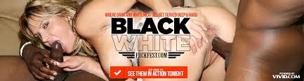 Black and white fuck fest