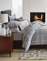 noelle flannel duvet cover set gluckstein home throughout flannel duvet cover