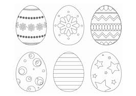 Happy easter egg coloring pages for preschool this section has a lot of happy easter egg coloring pages for preschool, kindergarten and kids. Easter Eggs Colouring In Printable Bub Hub
