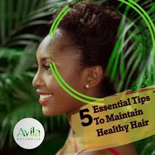 FIVE ESSENTIAL TIPS TO MAINTAIN HEALTHY HAIR – Avila Naturalle