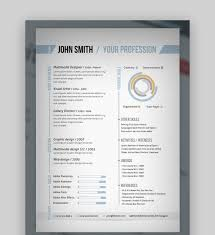 Two Page Resume Template Word For Freshers Free Download 2 Stock