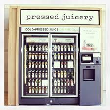 Cold Pressed Juice Vending Machine Unique This Is Progress A Cold Pressed Juice Vending Machine In Thousand