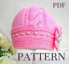 Knit Baby Hat Pattern Circular Needles New Image Result For Cabled Knit Baby Hat Pattern Circular Needles